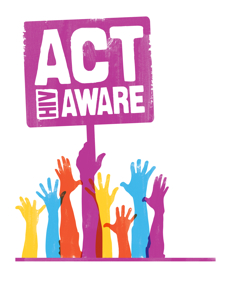 Act Aware Banner Colour