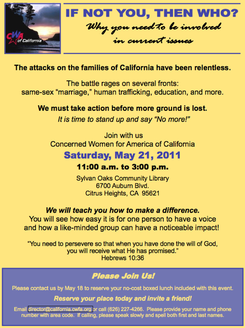 CWA of CA out to save lost ground