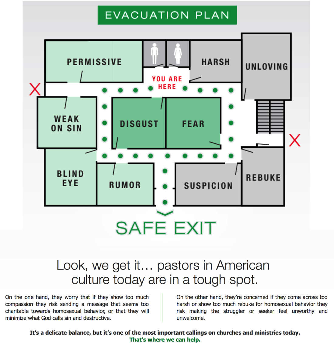 Ex Gay Org Creates Homosexuality Evacuation Plan