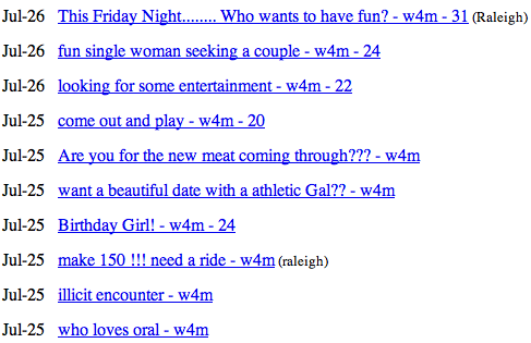 Craigslist maine casual encounters