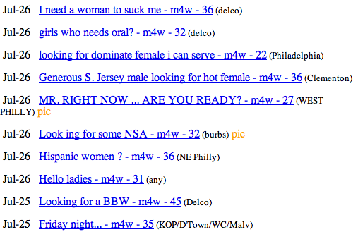 craigslist casual encounter pictures find sex now